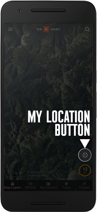 How Do I Find My Location, Orient My Map and Display the Compass? – onX