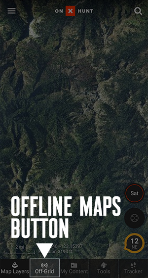 How Do I Save, Test and Use Offline Maps? – onX Save Map For Offline Use on print maps, facebook maps, service maps, online interactive maps, advertising maps,